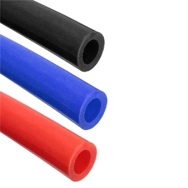 square silicone tubing silicone rubber hose thin wall rubber tube factory in china