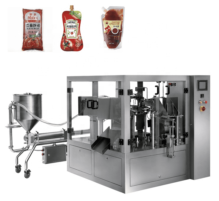 Tomato ketchup filling machine tomato salsa filling machine Featured Image