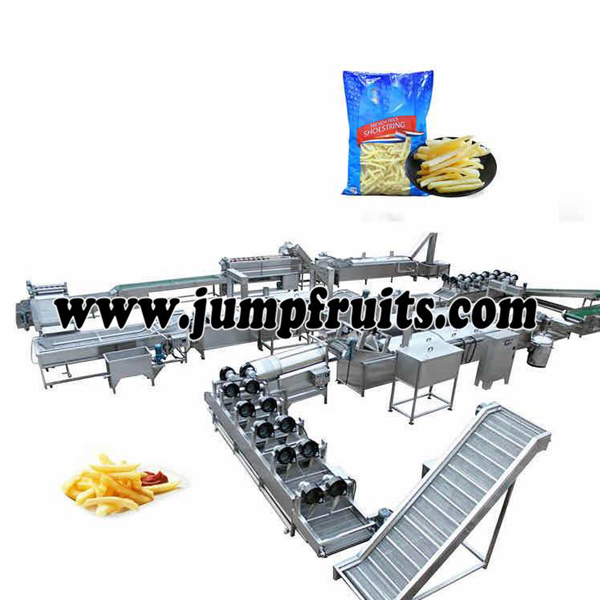 Bottom price Milk Candy Processing Machine - French fries equipment – JUMP