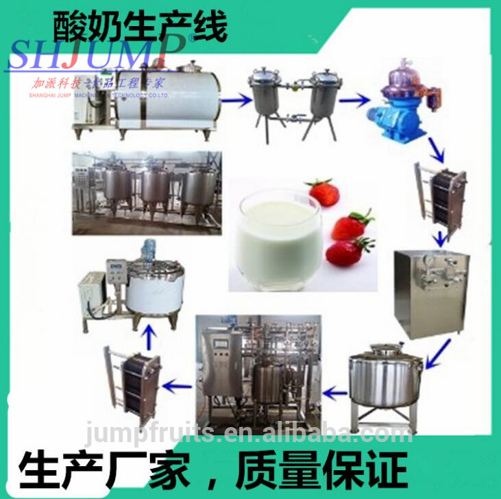 Turnkey small diary milk product process , cheese processing machine