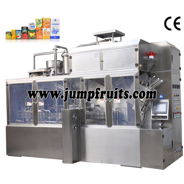 8 Year Exporter Rosa Roxburghii Juice Production Line - Beverage equipment and production line – JUMP