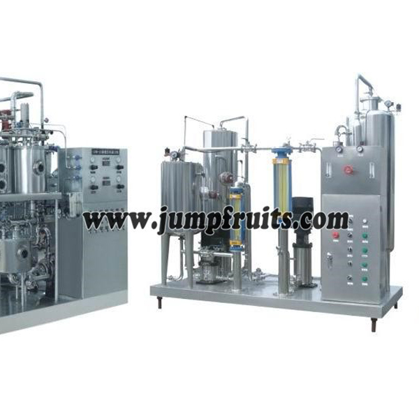 Factory wholesale Liquid Milk Processing Machine - Carbonated beverage and soda drink prodution machine – JUMP