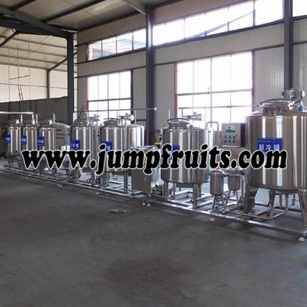 Professional China Conveying Equipment - Small yoghurt equipment – JUMP detail pictures