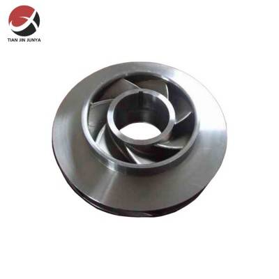 OEM 304 stainless steel casting pump impeller