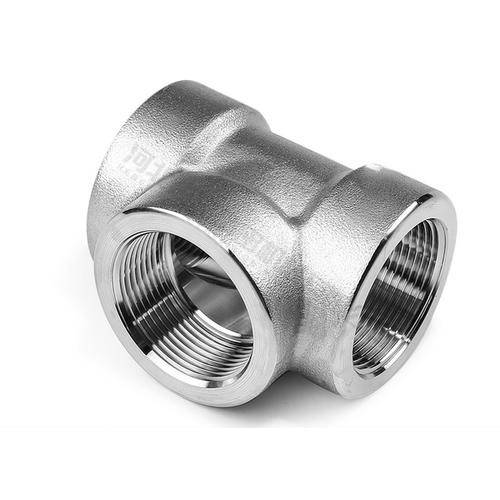 "3/4""Female Thread Casting Pipe Fitting Connector Stainless Steel 304/316 Tee"