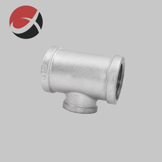 2021 New Style Architectural Hardware Fittings - Investment Casting Y Tee NPT Coupling Fittings Pipe Branch Stainless Steel Reducing Tee Elbow Pipe Fitting Lost Wax Casting for Valve Accessories &...