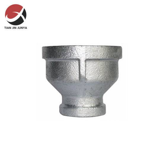 Factory making Stainless Steel Threaded Pipe Fittings - 1/2*1/4 BS Standard Thread Malleable Iron Pipe Fitting, Banded, Socket Reducer – Junya