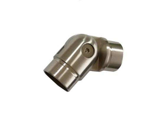 Reasonable price Casting Stainless Steel Nipple - Die Casting Stainless Steel 304 Round Adjustable Handrail Elbow for Window Hotel Use – Junya