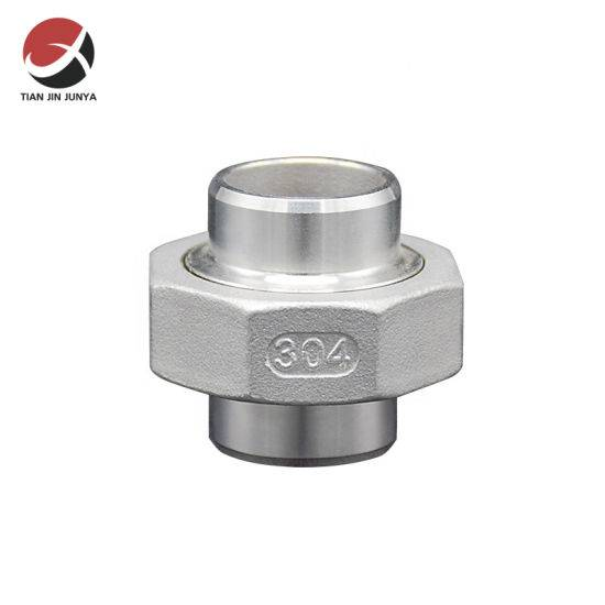 High Performance Sanitary Fittings - Junya OEM European Market Thread Casting Stainless Steel Welded Connector Tube Fitting Union Used in Kitchen Bathroom Plumbing Accessories – Junya Featured Image