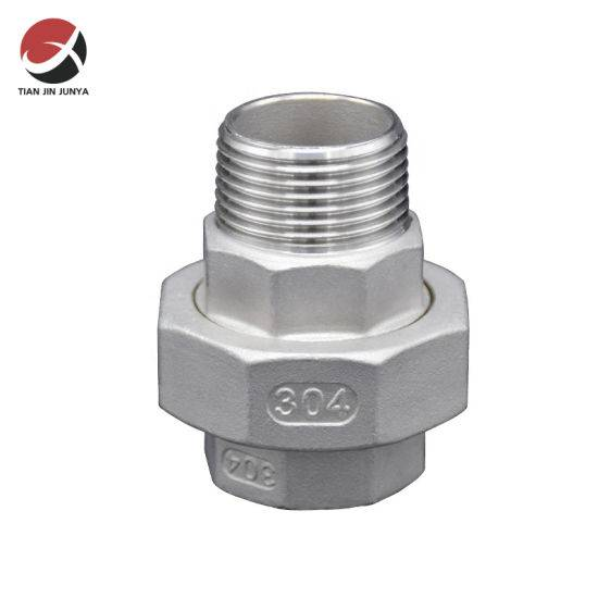 Hot sale Casting Stainless Steel Elbow - OEM Factory Direct Market Female Male Thread Casting Stainless Steel 304 Flexible Reducer Union Plumbing Accessories Pipe Connector Coupling Adapter Fittin...