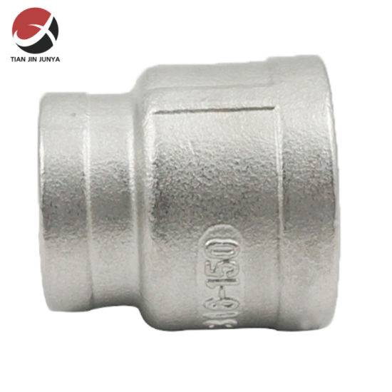 Stainless Steel 304 316 Reducer Socket Pipe Fittings with NPT PT BSPT Thread