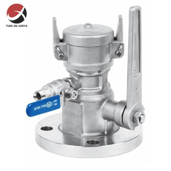 Stainless Steel 304 316liquefied Gas Tank Car Loading and Unloading Ball Valve, Dedicated to LNG Station, Tank Lorry Ball Valve