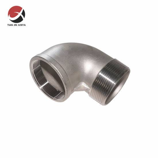 "OEM Supply 2 Pipe Clamp - 2"" Hydraulic Stainless Steel Pipe Fittings Union Connector NPT Threaded Male Double Elbow ASTM 90 Degree Street Elbow Pipe Fittings – Junya"