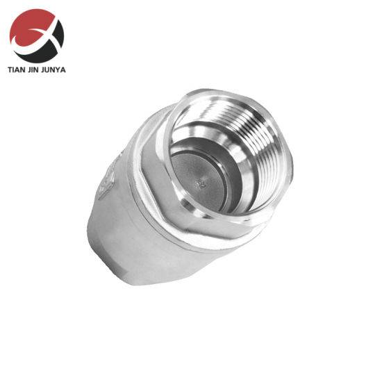 Stainless Steel 304 Water Flow Control Vertical Spring Loaded Check Valve
