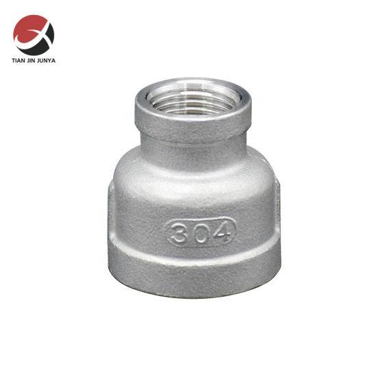 factory customized Stainless Steel Pipes And Fittings - 21*2/2 Factory Price of Stainless Steel NPT Malleable Cast Iron Pipe Coupling Fittings Manufacturers and Suppliers in China – Junya