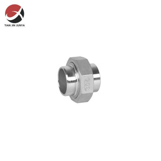 High Performance Sanitary Fittings - Junya OEM European Market Thread Casting Stainless Steel Welded Connector Tube Fitting Union Used in Kitchen Bathroom Plumbing Accessories – Junya