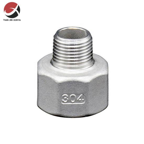 Low price for Brass Hex Nipple - Junya Casting Made Stainless Steel 304 316 Female Male Round Coupling Connector Malleable Iron Pipe HDPE Hardware Press Joint Fitting – Junya