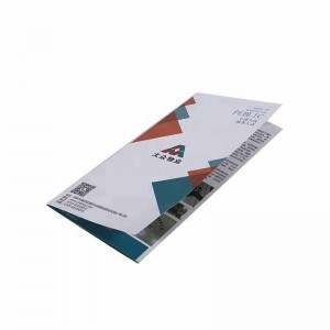 custom wholesale flyer leaflet booklet