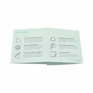 cheap customized flyer leaflet printing in china