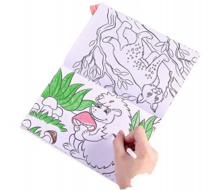 Wholesale Paperback Book Printing Soft Cover - professional coloring book printing for children – Knowledge Printing