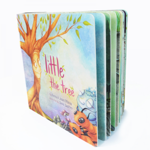 Customized kids paperboard book printing