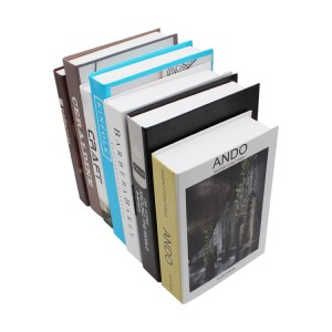 wholesale hard cover book decoration