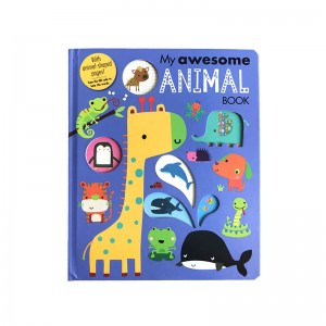 Children hardcover board book printing