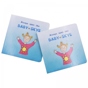 Child hard board books printing service