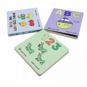 cheap customized china full color book printing hardcover children board books