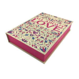 custom book shape box with EVA inner tray