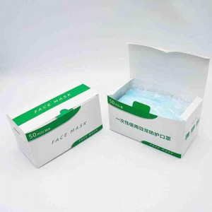 custom face mask box packaging printing face mask packaging box