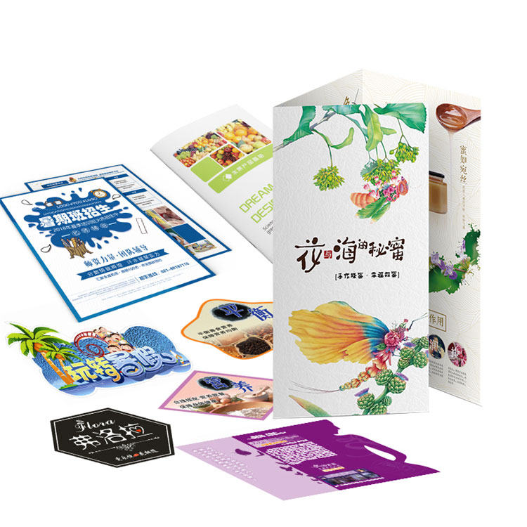 New Arrival China Cheap Brochure Printing Services - Custom Folded Leaflet Flyer Printing Service – Knowledge Printing