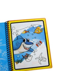 Sprial Drawing Book Printing For Kids