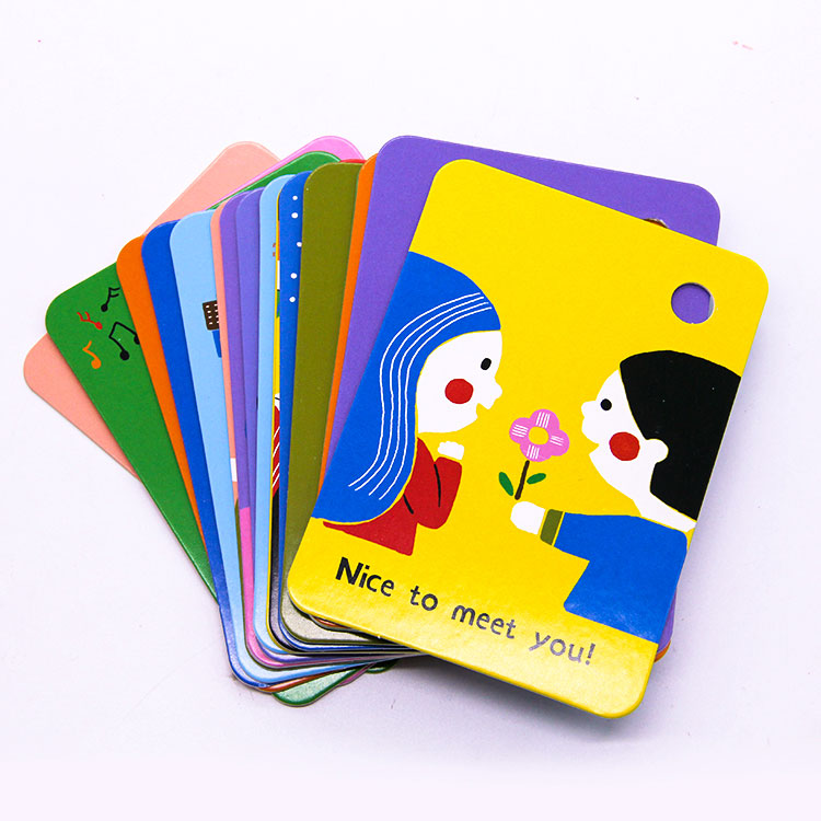 Abc Cards - Custom Kids Educational Flash Cards With Pp Ring – Knowledge Printing