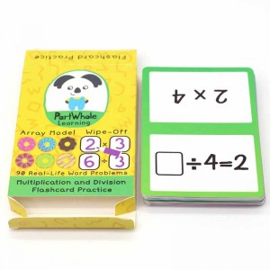 custom printing flash cards in china