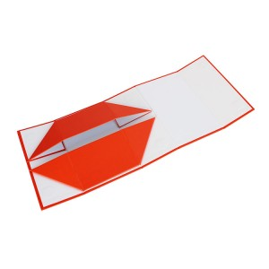 Color Folded Packaging Box For Wig Or Clothing
