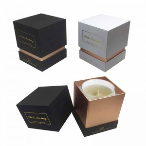 Cosmetic Box Wholesale - custom made rigid neck box for candle  – Knowledge Printing