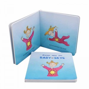 Cheap Price Cardboard Books For Babies Customized Printing