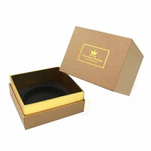 custom luxury neck box packaging candle