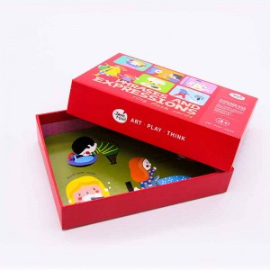 China factory wholesale educational flash cards printing with plastic ring