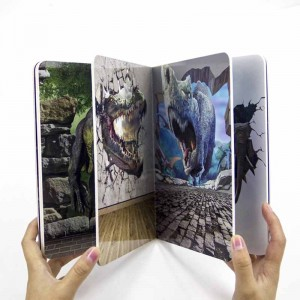 Full Colour Printing English Learning Short English Cardboard Story Book For Kids