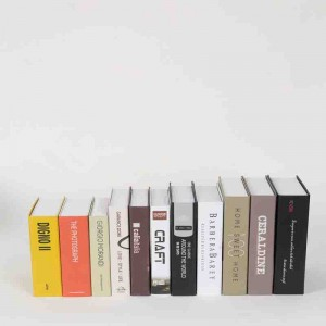 cheap wholesale false books for home decoration