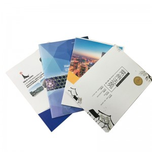 custom cheap pamphlet brochure booklet printing services in China factory
