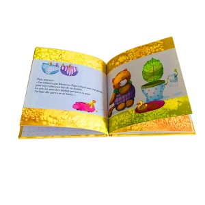overseas custom printing children book hardcover book cover children
