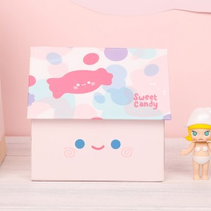 OEM manufacturer Wig Customize Boxes - custom small pink cardboard mushroom display boxes for sweets chocolate packaging – Knowledge Printing