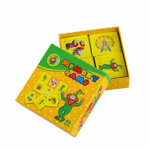 Good Wholesale Vendors Magazine Printing Service - customized flash cards for children on demand – Knowledge Printing