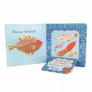 Hot sale custom fancy color professional printing children board book