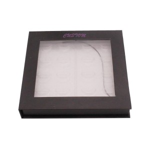 Eyelash Box For 8-pair Of Eyelashes With Window