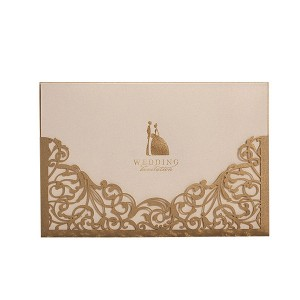 Professional China Custom Business Card Printing - hot foil stamping printing wedding invitation card – Knowledge Printing