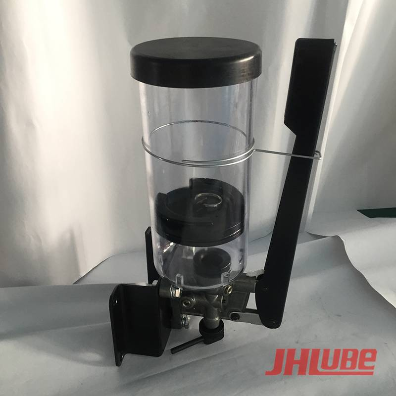 Online Exporter Manual Hydraulic Pumps - XEP20/XEP20A  Hand grease plunger pump – Jianhe detail pictures